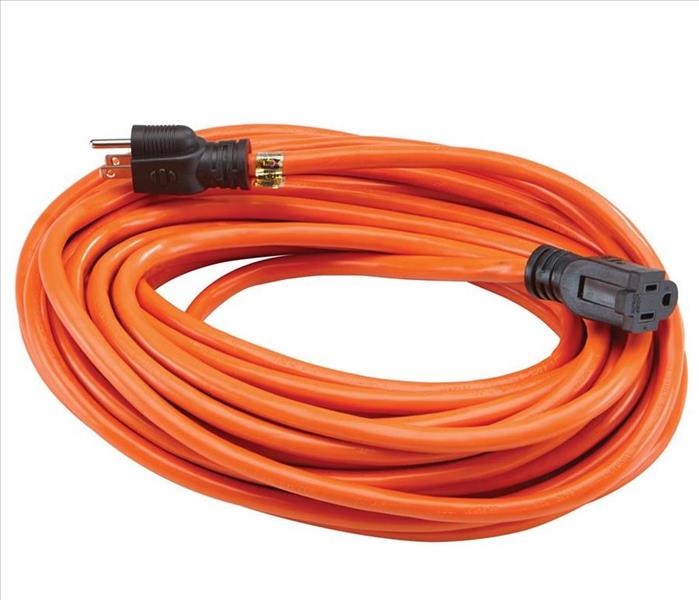 Fire Damage Extension Cord Safety