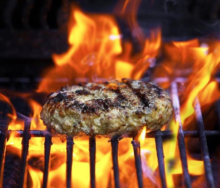 Fire Damage Safety grilling tips